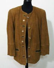 Trachten Leder Jacke von Trachtengwandl Grösse 40 Damen Ziegen Velour C037