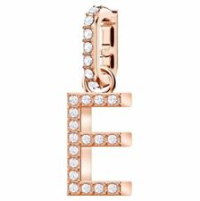 Swarovski 5437621 Remix Charm Rose Gold Plated - Letter E RRP$39