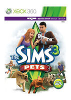 The Sims 3: Pets (Microsoft Xbox 360, 2011) CHEAP PRICE AND FREE POSTAGE