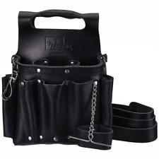 Ideal 35-950BLK Premium Tuff-Tote Leather Pouch w/Shoulder Strap (Black)