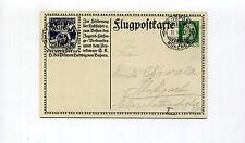 Germany 1912 Air Mail Souvenir Postcard - Auto Club of Bavaria - AAMC 18