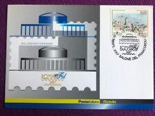 """2007 Cartolina Filatelica """"ROMAFIL  2007"""" Annullo ROMA EUR molto rara"""