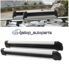Aluminum Universal Snow Rack Roof Mounted Ski Snowboard Carrier Rack Rooftop