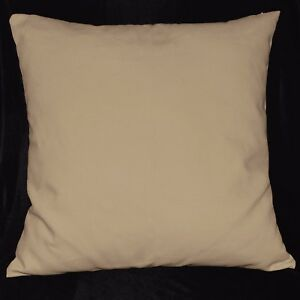 la10a Sand Shell High Quality Pure Cotton Canvas Fabric Cushion/Pillow Cover