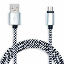 Long 3m Micro USB Cable Data Charger Lead for HTC M8 M9 Galaxy S7 S6 EDGE LG ZTE