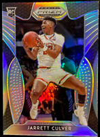 🔥 2019-20 Panini Prizm Draft Picks Silver JARRETT CULVER Home White Jersey #69