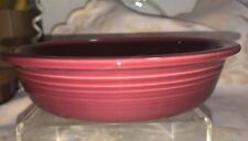 """Fiesta CEREAL BOWL - 19 Oz  appx. 6 7/8"""" x 1 1/2""""  Retired Color - CINNABAR"""
