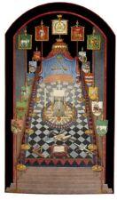 Masonic Royal Arch Masons York Rite RAM art print poster ring chapter freemasons