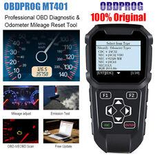 OBDPROG MT401 Odometer Correction Mileage Adjustment OBD2 Diagnostic Scan Tool