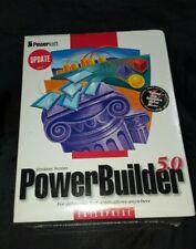 Powersoft Power Builder Enterprise Edition Windows 5.0 Version Sealed Sybase SQL
