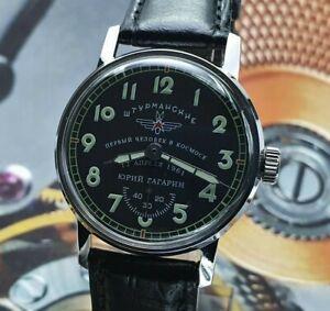 Watch Pobeda Sturmanskie Vintage Soviet Mechanical WristWatch Yuri Gagarin USSR