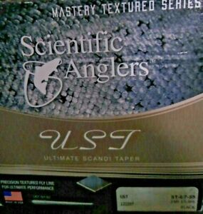 Fly Fishing Line Scientific Anglers Ultimate Scandi Taper 35'  ST-6/7-S5 Black