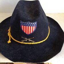 Vintage Benay-Albee Novelty Hat Child's Civil War 100% Wool Disneyland?
