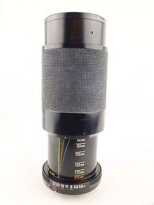 TAMRON Adaptall-2 f/3.8-4 80-210mm CF TELE MACRO Lens