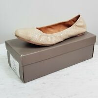 [ COUNTRY ROAD ]  Womens Leather Flat Slip on Snake Ballet Shoes $149 | Size 41