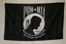 Pow -Mia 3 X 5 Flag /Banner