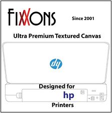 "Ultra Premium Textured Inkjet Canvas Semi Matte For Hp 8.5"" x 11"" (50 Sheets)"