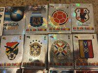 Panini COPA AMERICA 2011 (Argentina) Badges/ Foils/ Shiny