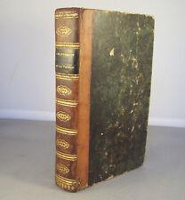SANNAZAR / L'ENFANTEMENT DE LA VIERGE / RELIURE 1/2 CUIR 1830