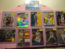 STEPHEN CURRY BASEBALL LARGE LOT WITH ROOKIE AND NATIONAL CARD GOLDEN STATE