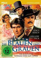 Die Blauen und die Grauen * DVD 3-Teiler mit Gregory Peck und Stacey Keach Pidax