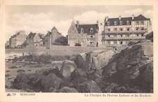Roscoff France La Clinique du Docteur Lefranc et les Rochers antique pc Z40393