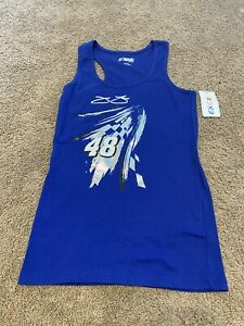 Womens Nascar For Her Jimmie Johnson Tank Top XL New With Tags Lowes