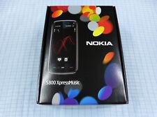 Nokia 5800 XpressMusic Schwarz-Blau! Ohne Simlock! TOP ZUSTAND! OVP! RAR!