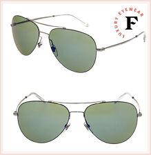 e3953a6de27 Gucci Aviator 0500 Gg2245s Ruthenium Green Mirrored Sunglasses Unisex 2245