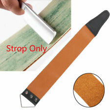 Professional Barber Leather Strop Straight Razor Sharpening Shaving Strop Tool