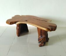 Root Wood Table Coffee Teak Solid Living Room Sofa NEW