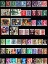 New listing Great Britain all different lot #20 - 56 stamps