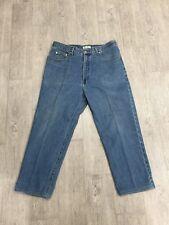 GUESS Men's Vintage 90's Medium Wash Classic Fit Jeans Size 38 x 30 Green Label