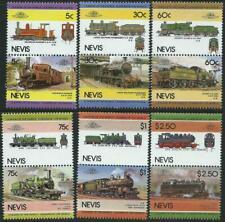 "NEVIS - 1985 ""RAILWAY LOCOMOTIVES' Series IV Set of 6 MNH SG297-308 [A2939]"