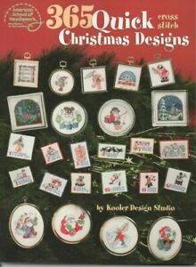 365 Quick Christmas Cross Stitch Designs Book160 Pages With DMC & Anchor Numbers