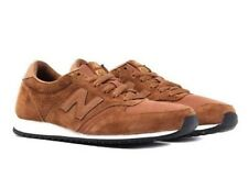New Balance 420 Mens 70s Running U420PTB Trainers Brown Suede Shoes Sneakers UK5