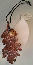 DEPT 56 OAK LEAF & ACORN ORNAMENT