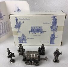 Pewter Figures Liberty Falls Americana Collection 5 Pioneer Wagon Ah110 1996