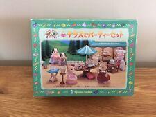 Calico Critters Sylvanian Families Mi-19 Garden Party Set Epoch 2000 rare Japan