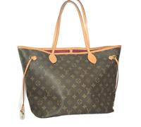 Louis Vuitton Monogram Neverfull MM handbag shoulder bag