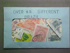 85 DIFFERENT BRAZIL STAMP COLLECTION - LOT