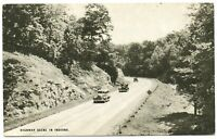 "Indiana Postcard Conoco Touraide Advertisement ""Highway Scene In Indiana"" #76745"