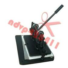 Manual 22*36cm Leathercraft Cutting Machine Leather Paper PVC Sheet Punch Cutter