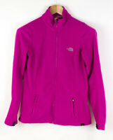 THE NORTH FACE Women Zip Fleece Jumper Cardigan Sweater Size S AFZ751