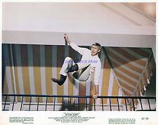 IN LIKE FLINT RARE 1967  8X10 JAMES COBURN  TAKES A LEAP!