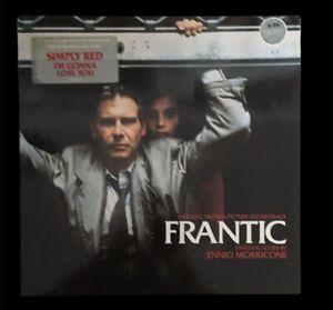 Frantic Soundtrack - Ennio Morricone - Vinyl Album 1988 VG+