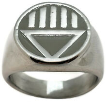 Black Lantern Corps Ring Sizes 5-16 Death Corps Green Lantern Ring Set Grey Dead