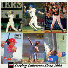 *1994 Futera Australia Baseball Regular Gold Prospect Full Set (6 +1 Correction)