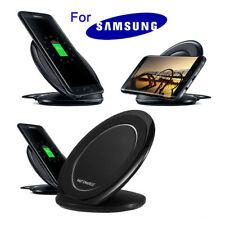 Qi Wireless Fast Charger Charging Pad Stand Dock for Samsung Galaxy Note 8 S8 S9