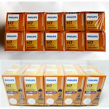 10x  PHILIPS H7 12V X-treme VISION Bright +30% Halogen Headlight Lamp Bulbs 55W